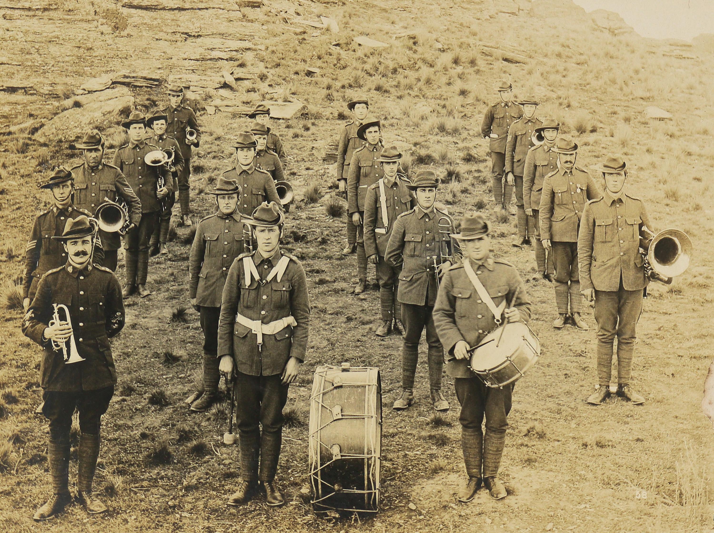 10th Regiment Band.  Sutton Camp (April 1913)